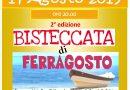 Bisteccata di Ferragosto  14 agosto 2019 in  Piazza IV Novembre
